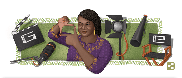 google - See How Google Doodle Honours Late Amaka Igwe On Her 57th Post Humous Birthday Today