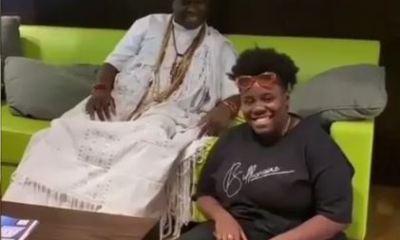 Teni and Ooni Of Ife