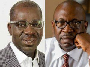 Edo 2020: Obaseki Ignores APC's Ize-Iyamu, Reveals Main Opponent