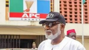 Akeredolu APC - Ondo: Akeredolu Declares Friday Public Holiday