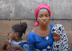 Kwara Gov's Wife Offer To Help Abandoned Blue-Eyed Mom, Daughters