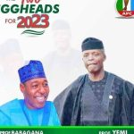 2023: Campaign Poster Of Osinbajo For President, Gov Zulum As VP Emerges