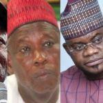 Nigerians React As Oshiomhole, Ganduje, Yahaya Bello Make US Visa Ban List