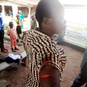 APC Crisis: Party Chairman Stabs Woman Leader In Oyo [Photo]