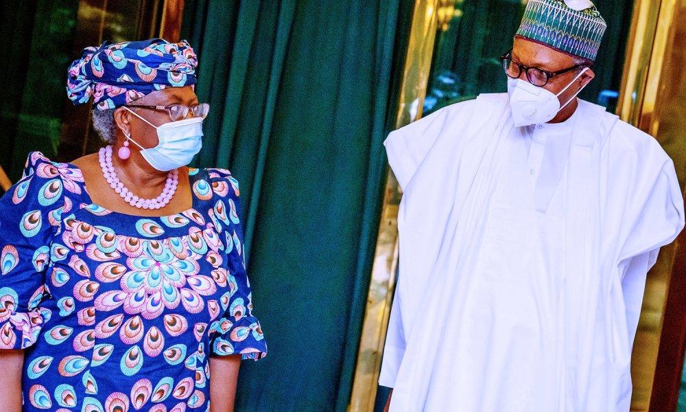 WTO DG: Buhari Reveal His Plans To Ensure Ngozi Okonjo-Iweala's Victory