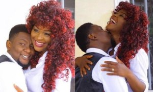 Chacha Eke and Hubby - Nollywood Actress Chacha Eke Insists She Has Bipolar Disorder, Gives Update On Marriage (Video)