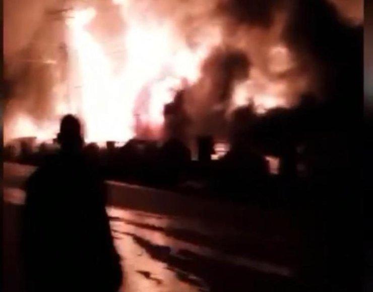 Breaking: Post Office On Fire In Osun (Video)