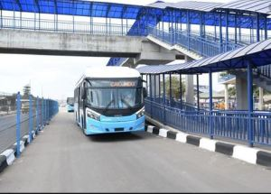 Lagos Bus - Lagos Bus Service Suspends Operations Over #EndSARS Protest