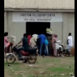 Residents, Including Muslims Cart-Away Food Items Inside Church Store In Ogun – [Video]