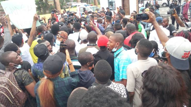 #ENDSARS Protesters Make Three Demands From Government To End Campaign – [Photos]