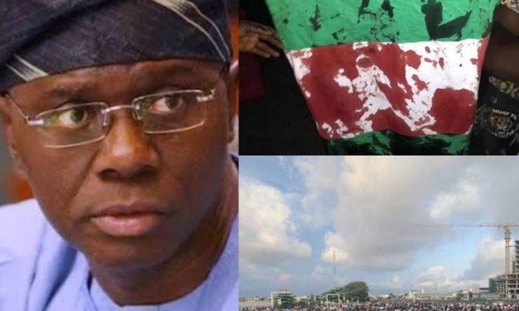 #LekkiMassacre: Only Two People Died At Lekki Toll Gate – Sanwo-Olu