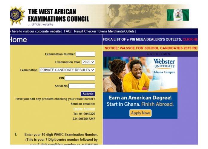 WAEC Nigeria Speaks On Releasing 2020 WAEC Result