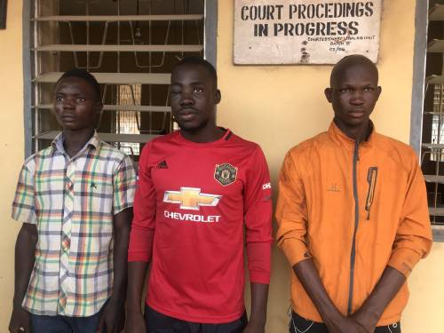 Ogun: Three #EndSARS Protesters Arraigned For Attempted Murder Released