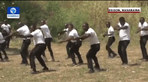 EndSARS: SWAT Learning Kung Fu? Nigerians React To Police Unit Training – [Video]