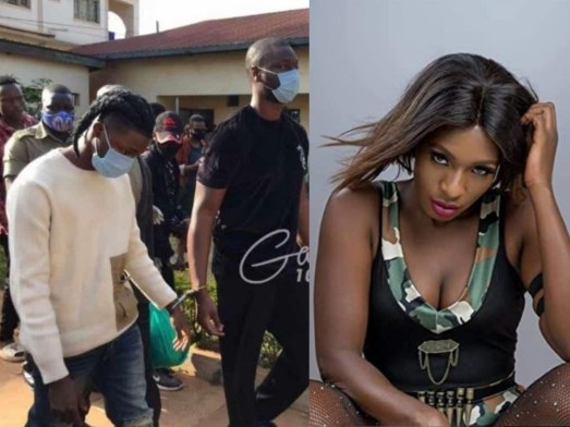 Cindy Sanyu attacked Omah Lay