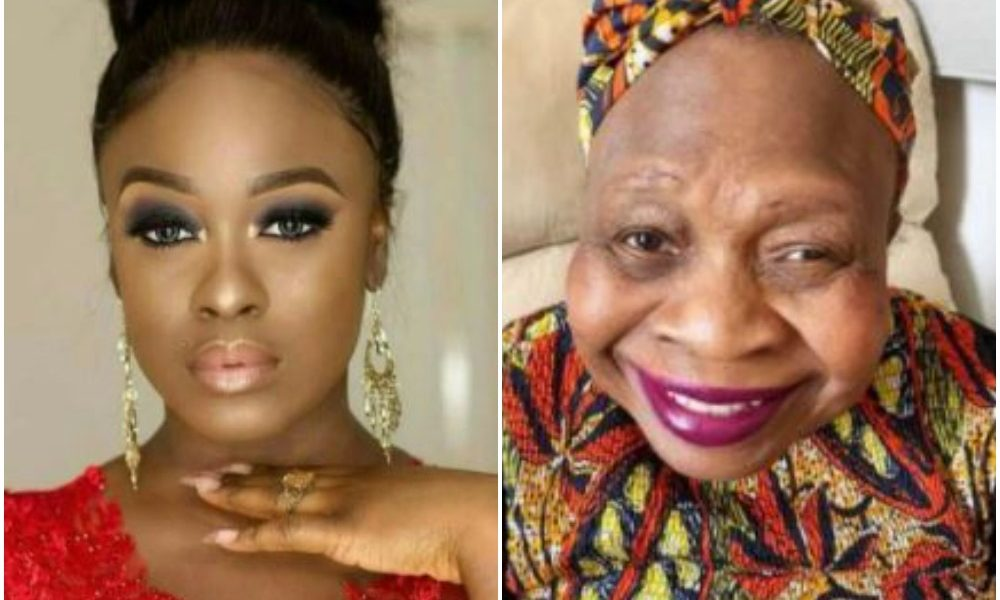 BBNaija's Uriel's Mom Who's Down With Dementia Melts Hearts After Doing This To Her Daughter