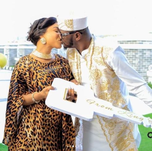 Tonto Dikeh Releases Cute Photos From Her New Man's Birthday Party