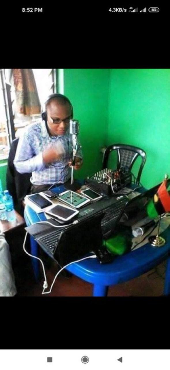 Throwback Photo Of How Nnamdi Kanu Started