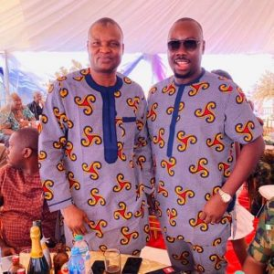 Friends From Way Back? This Photos Of Abba Kyari With Obi Cubana At A Friend's Father Burial In Imo Last Year Speaks Volume