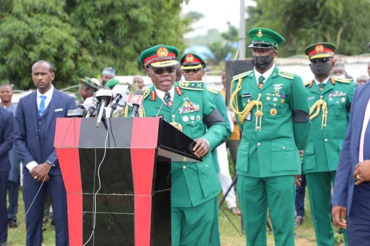 COAS Yahaya Reacts As Bandits Murder Top Army General