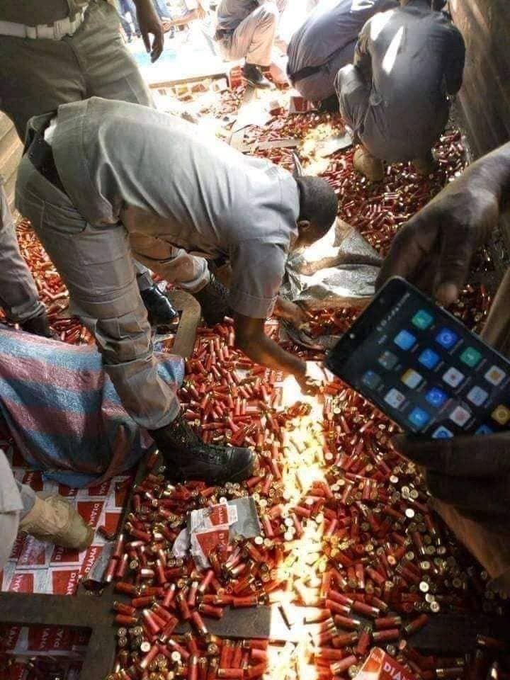 Customs Intercept Truck-load Of 200,000 Live Ammunition In Niger State - [Photos