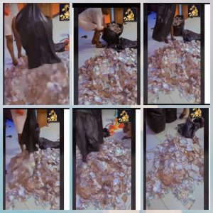 See The Money Gathered At Obi Cubana's Mother's Burial  Video