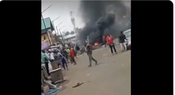 NAF Denies Killings As Air Force Operatives Clash With Ladipo Market Traders