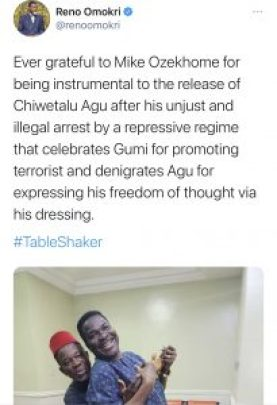 Chiwetalu Agu and Mike Ozekhome