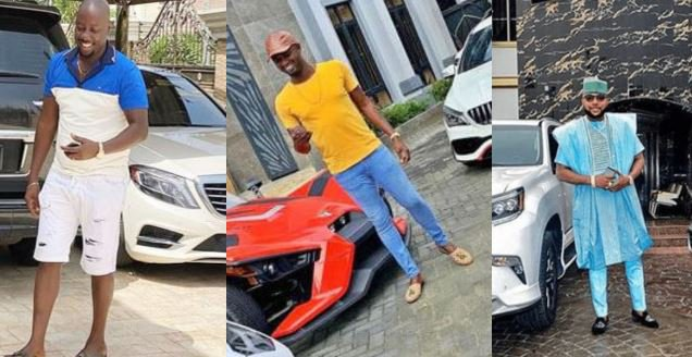 Video: E-Money, Obi Cubana dine and wine with young billionaire Jowizaza in his mansion - Naija News 247