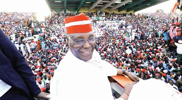 Image result for Several persons slump at Atiku's rally in Kano