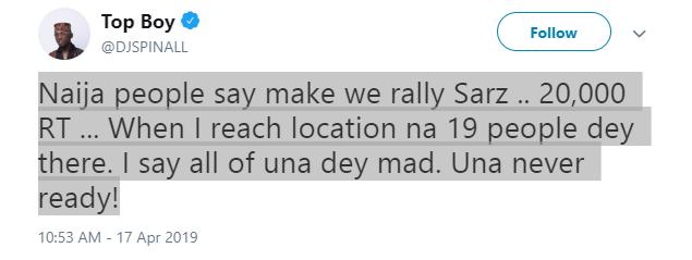 , DJ Spinall slams End SARS online activists, LATEST NIGERIAN NEWS, POLITICS TODAY, CELEBRITY GISTS | UNCLE SURU