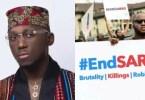 , DJ Spinall slams End SARS online activists, LATEST NIGERIAN NEWS, POLITICS TODAY, CELEBRITY GISTS   UNCLE SURU