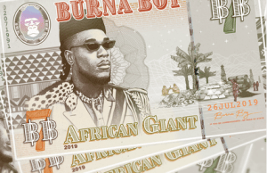 'African Giant' Album By Burna Boy