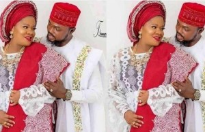 Toyin Abraham is engaged, not married yet ? Manager