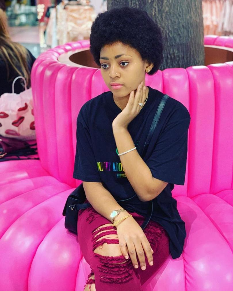 Regina Daniel Flaunts Her New Afro Hair Style And Nose Ring In New Photos