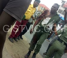 Fatal Accident As Soldier Man Gets Dragged By A Tipper Driver At Fadeyi (Graphic Photos + Video)