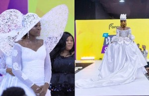 BBNaija's Alex Unusual Breaks The Internet With Breath-Taking Bridal Photos