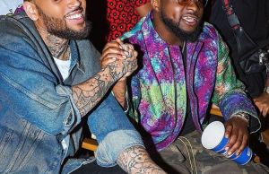 Image result for davido and chris brown