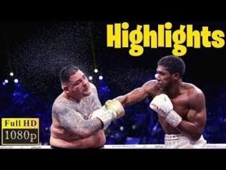 Anthony Joshua vs Andy Ruiz 2 Highlights