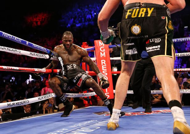 Deontay Wilder rushed to the hospital after brutal defeat to Tyson Fury