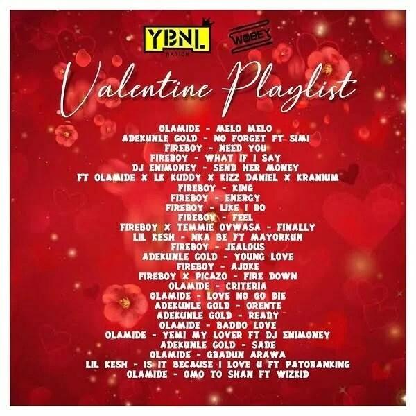 DJ Enimoney Valentine's Playlist (Mix)