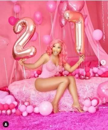 Mercy Eke celebrates 27th birthday today