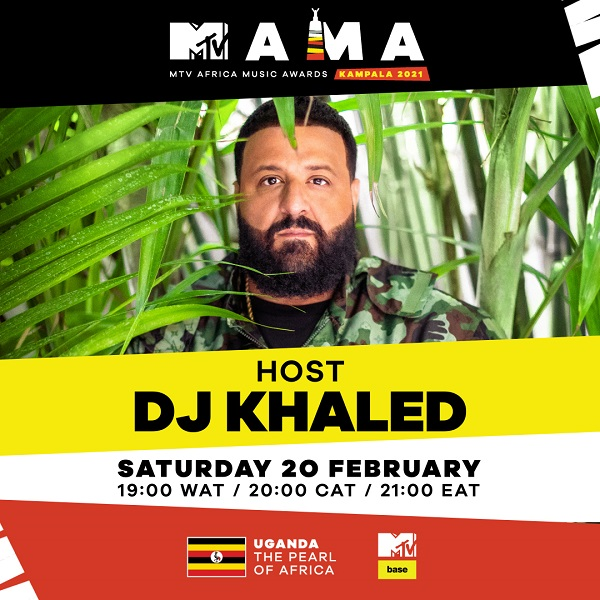 DJ Khaled MTV MAMAs 2021 Host