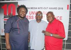 NIGERIA MEDIA NITE-OUT AWARD UNVEIL 2016 EDITION PLAQUE