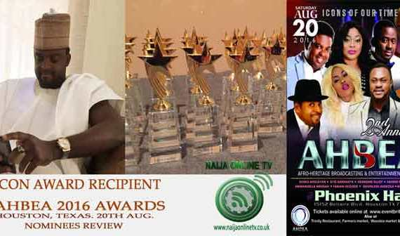 AHBEA 2016 Nominee, Kunle Afolayan, Icon Award Category