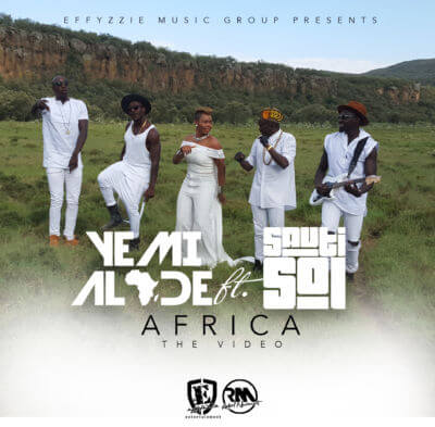 Yemi Alade - Africa (Video) ft. Sauti Sol, New video, watch