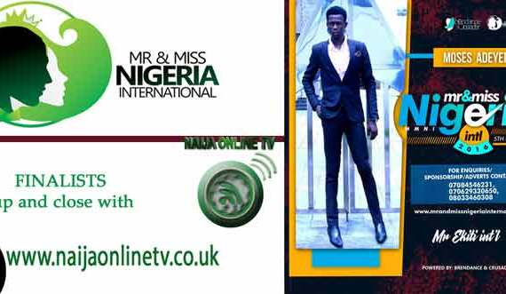Moses Adeyefa, Mr And Miss Nigeria International Pageant 2016