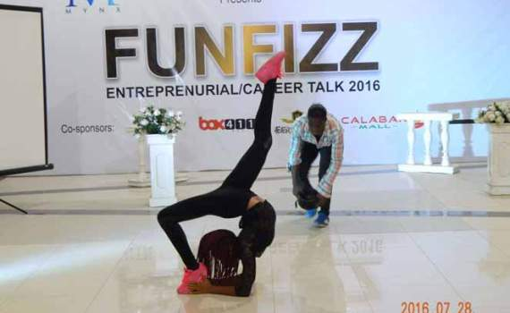 SPAR HOSTS FUNFIZZ IN CALABAR