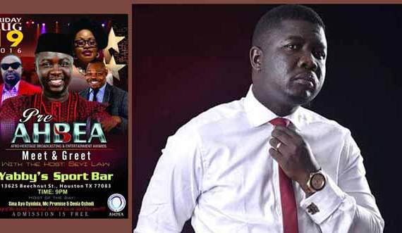 TOP COMEDIAN, SEYI LAW TO HOST AHBEA 2016