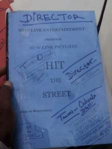 BEHIND THE SCENE PHOTOS OF HIT THE STREET MOVIE
